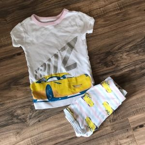 Gap Toddler Girl's Cars Disney Pajama Set